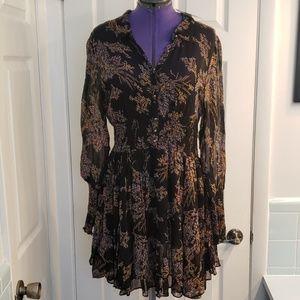Free People black Comp Dress